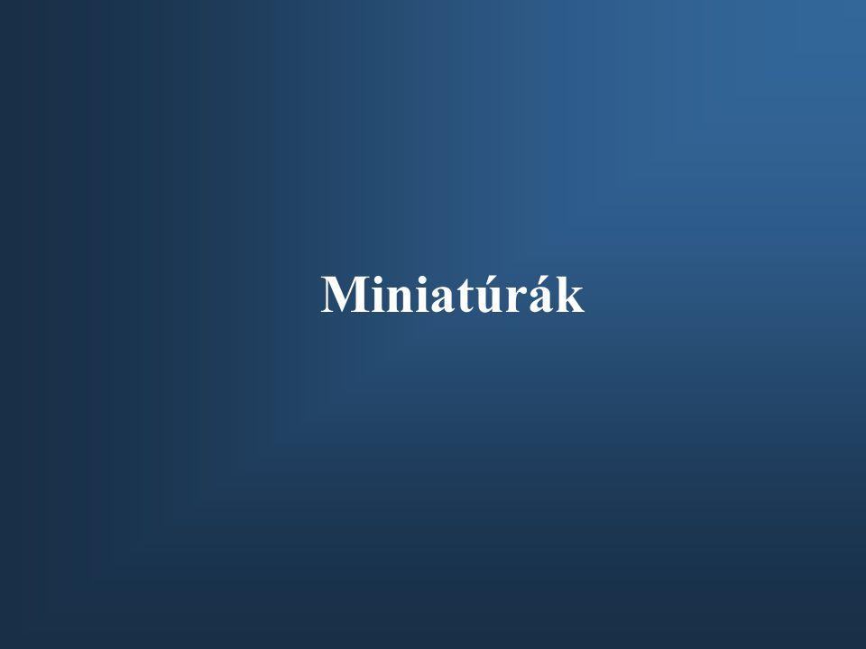 Miniatúrák