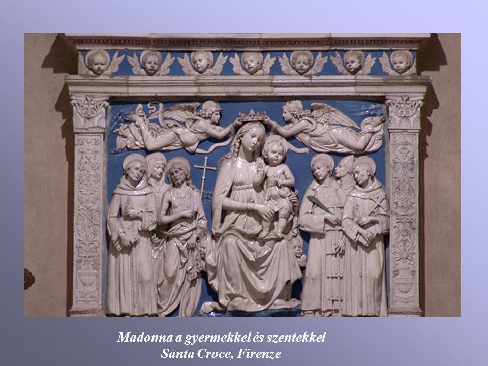 Madonna a gyermekkel és szentekkel