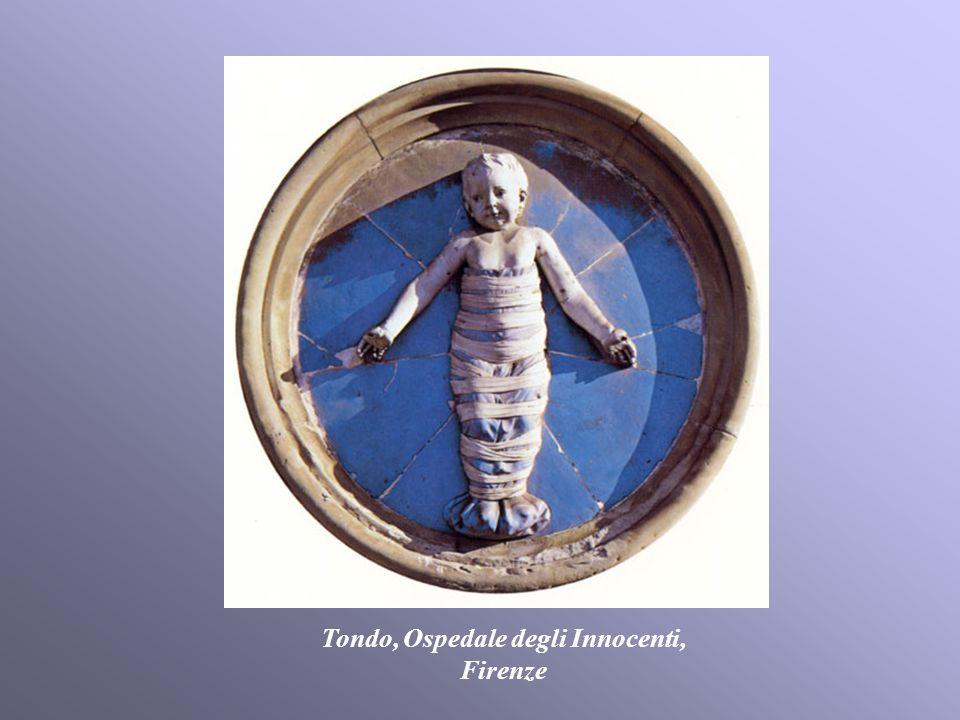 Tondo, Ospedale degli Innocenti,