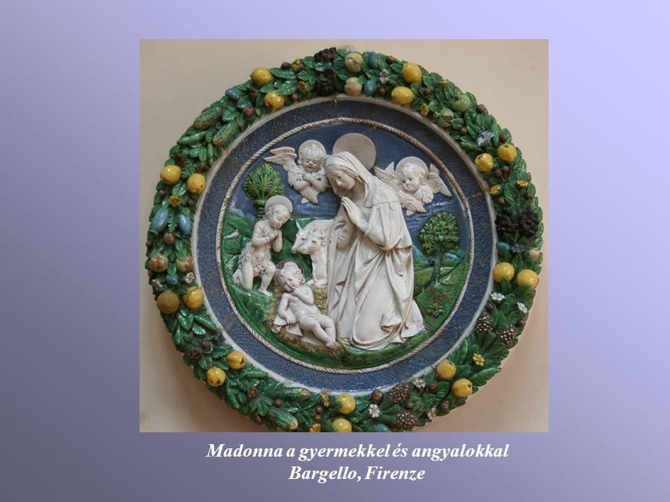 Madonna a gyermekkel és angyalokkal