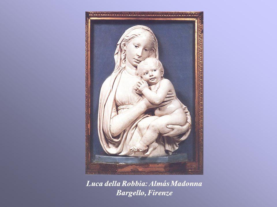 Luca della Robbia: Almás Madonna