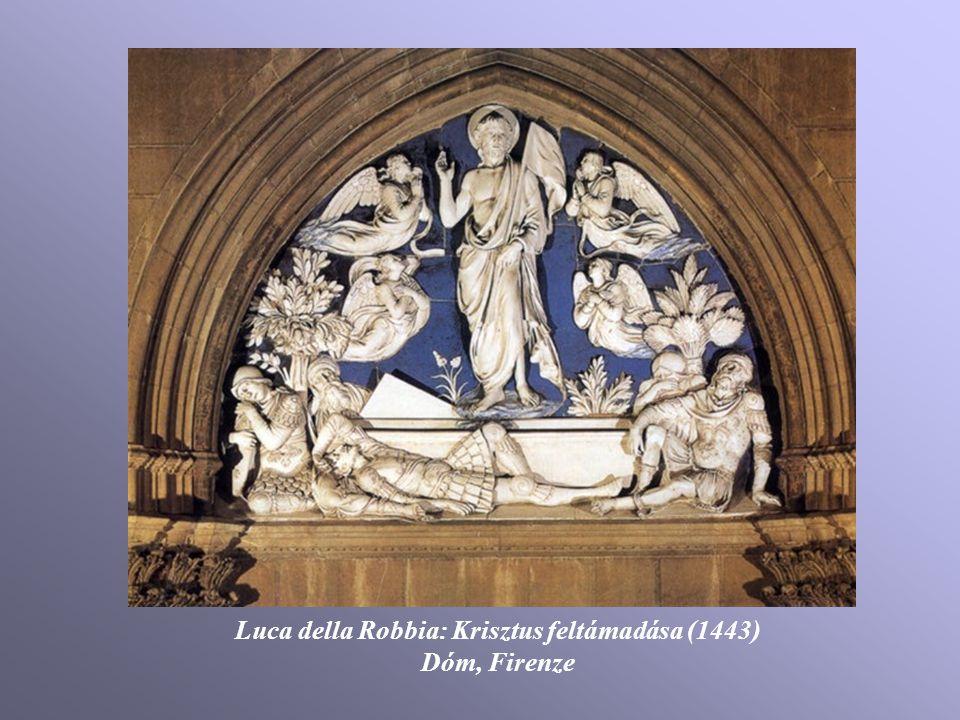 Luca della Robbia: Krisztus feltámadása (1443)