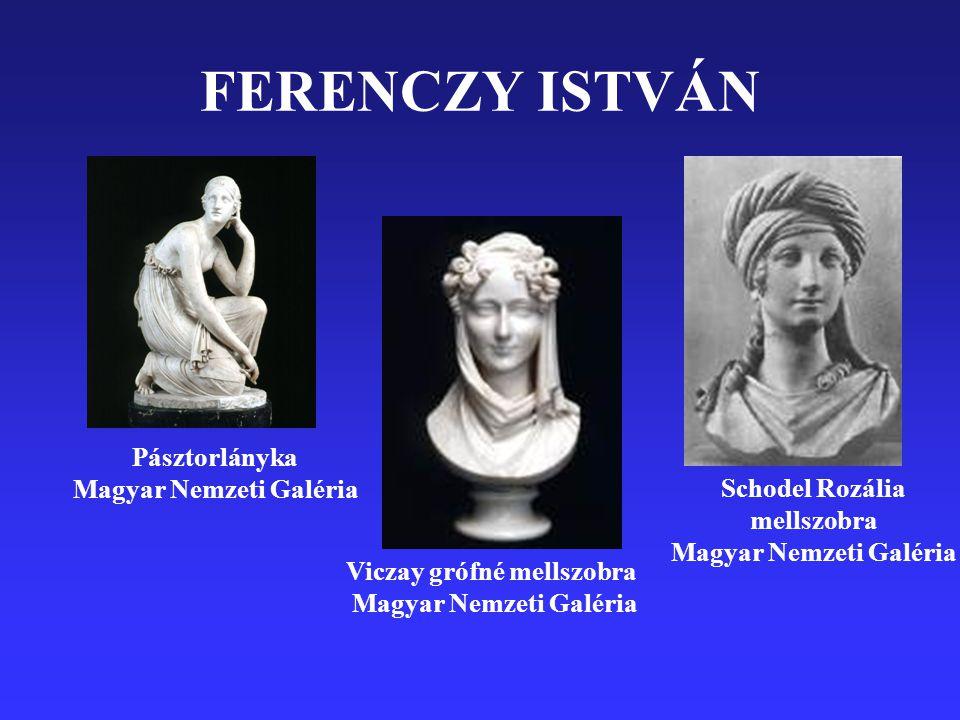 FERENCZY ISTVÁN Pásztorlányka Magyar Nemzeti Galéria