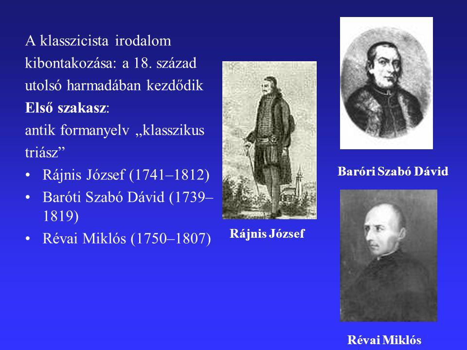 A klasszicista irodalom kibontakozása: a 18. század