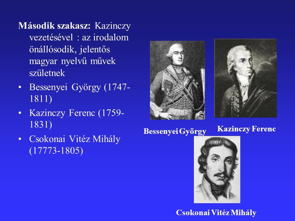 Csokonai Vitéz Mihály (17773-1805)