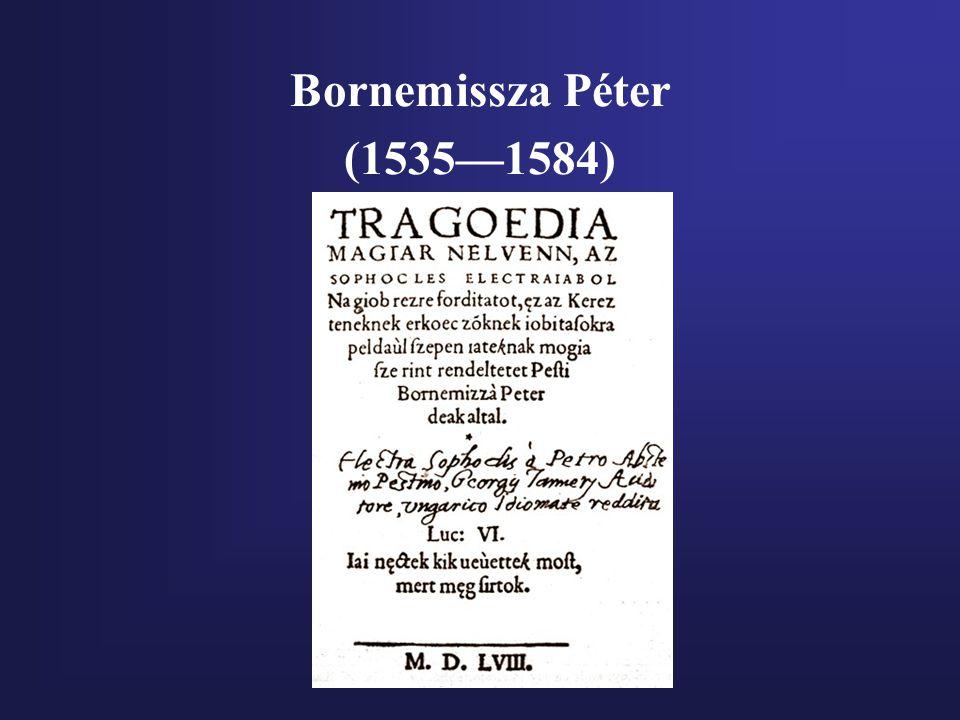 Bornemissza Péter (1535—1584)
