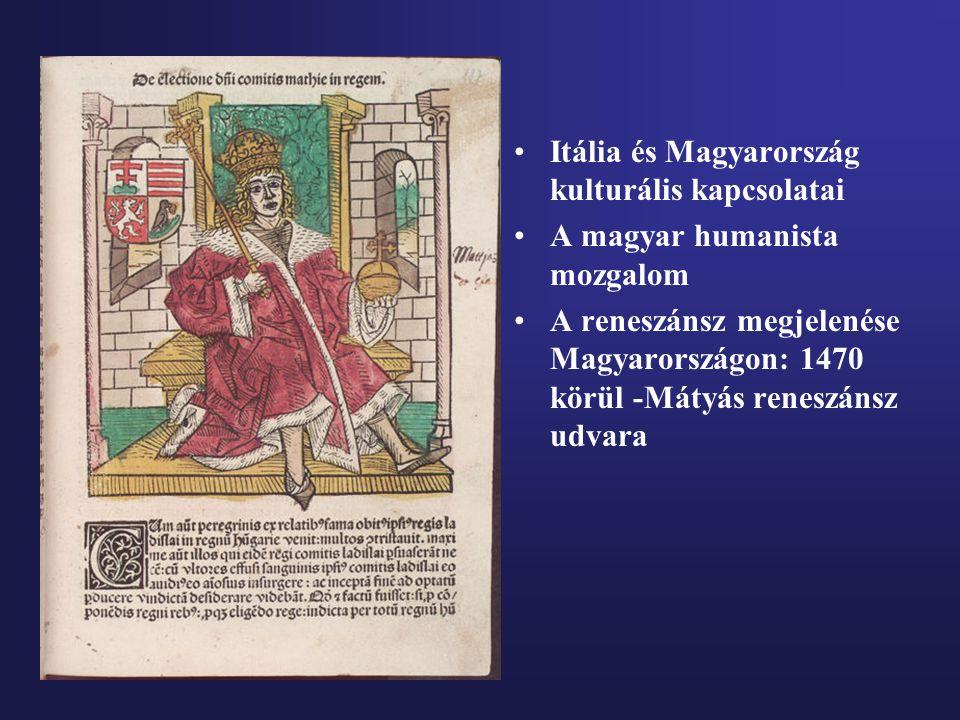 Itália és Magyarország kulturális kapcsolatai