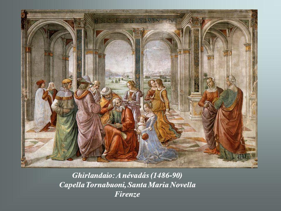Ghirlandaio: A névadás (1486-90)