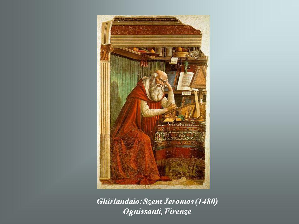 Ghirlandaio: Szent Jeromos (1480)