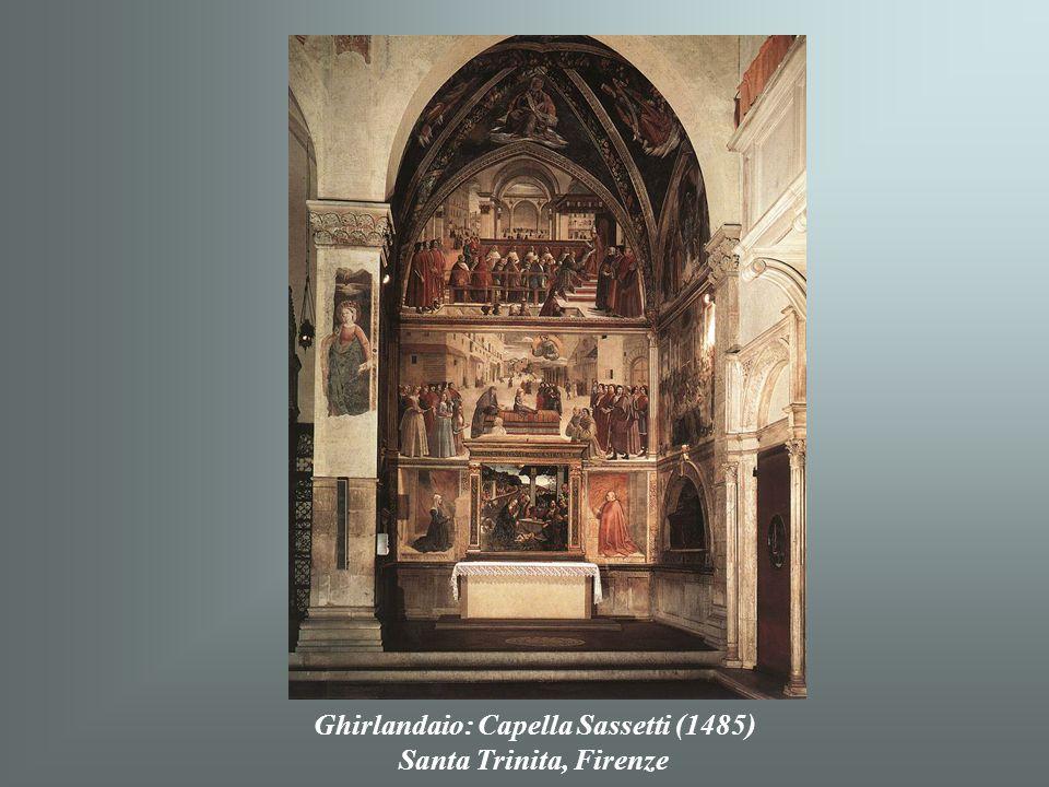 Ghirlandaio: Capella Sassetti (1485)
