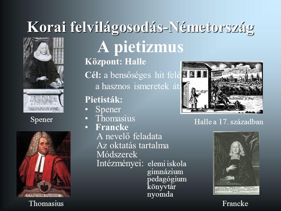 Korai felvilágosodás-Németország A pietizmus