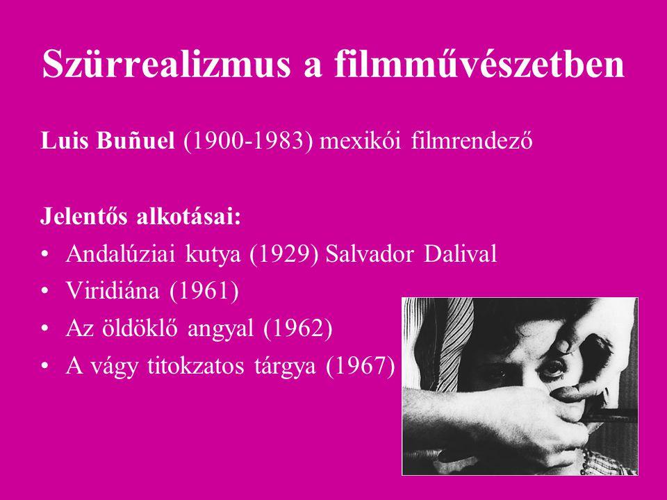 Szürrealizmus a filmművészetben