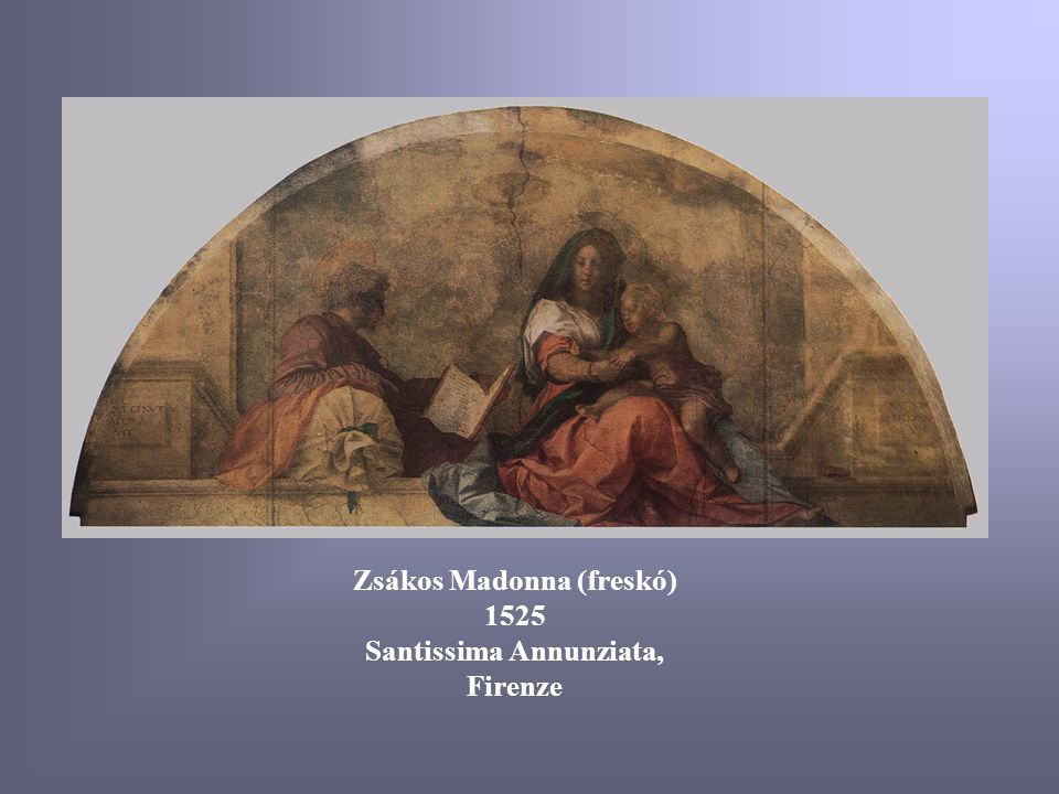 Zsákos Madonna (freskó) Santissima Annunziata, Firenze