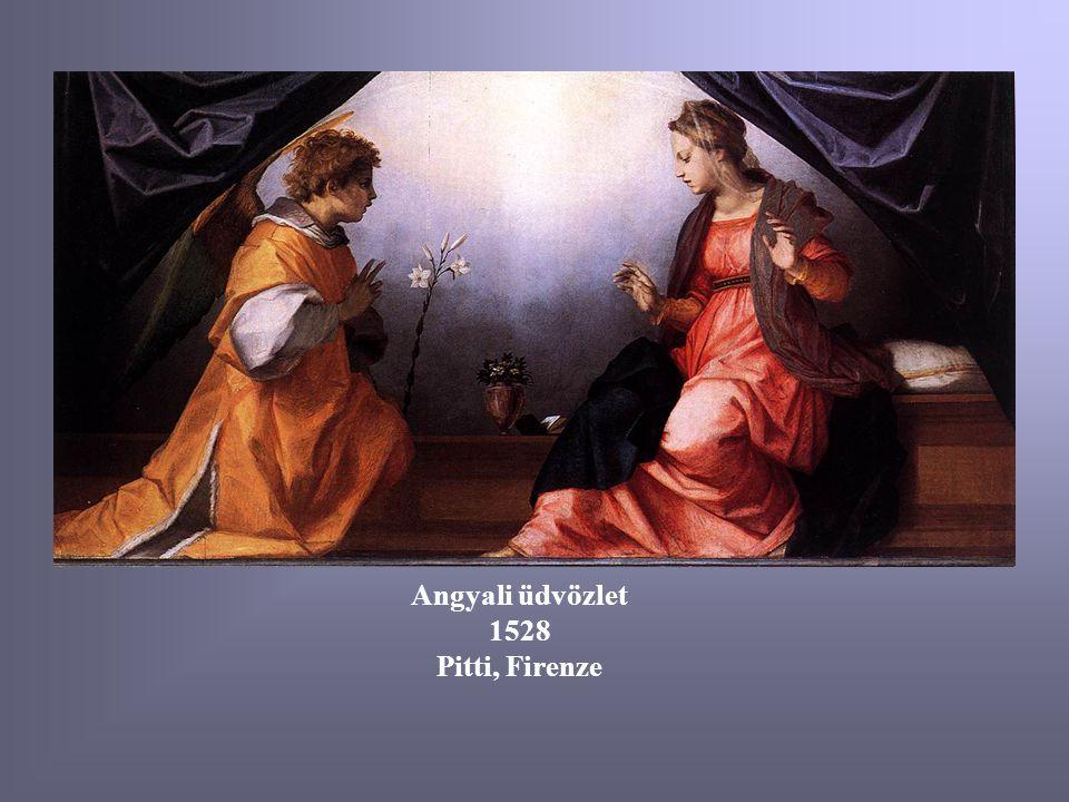 Angyali üdvözlet 1528 Pitti, Firenze