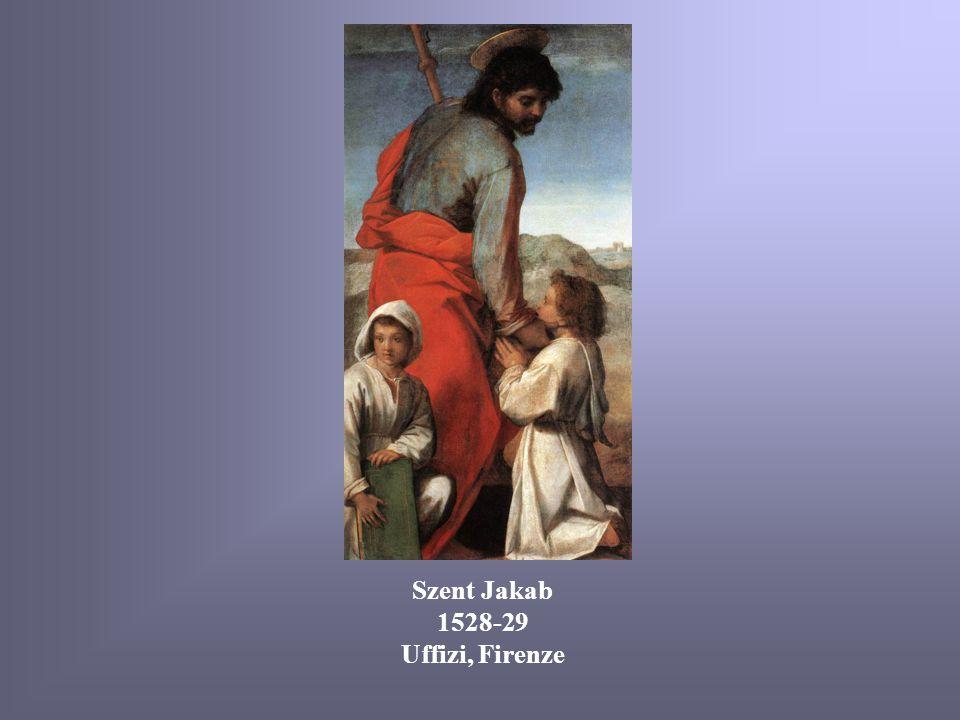 Szent Jakab 1528-29 Uffizi, Firenze