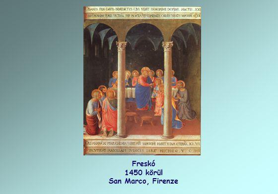 Freskó 1450 körül San Marco, Firenze