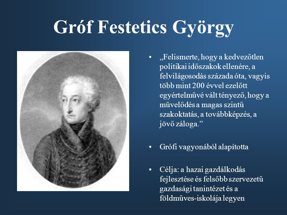 Gróf Festetics György