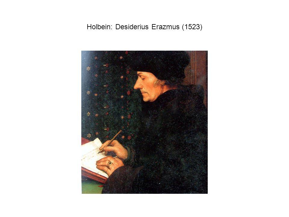Holbein: Desiderius Erazmus (1523)