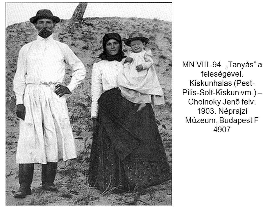 """MN VIII. 94. """"Tanyás a feleségével"""