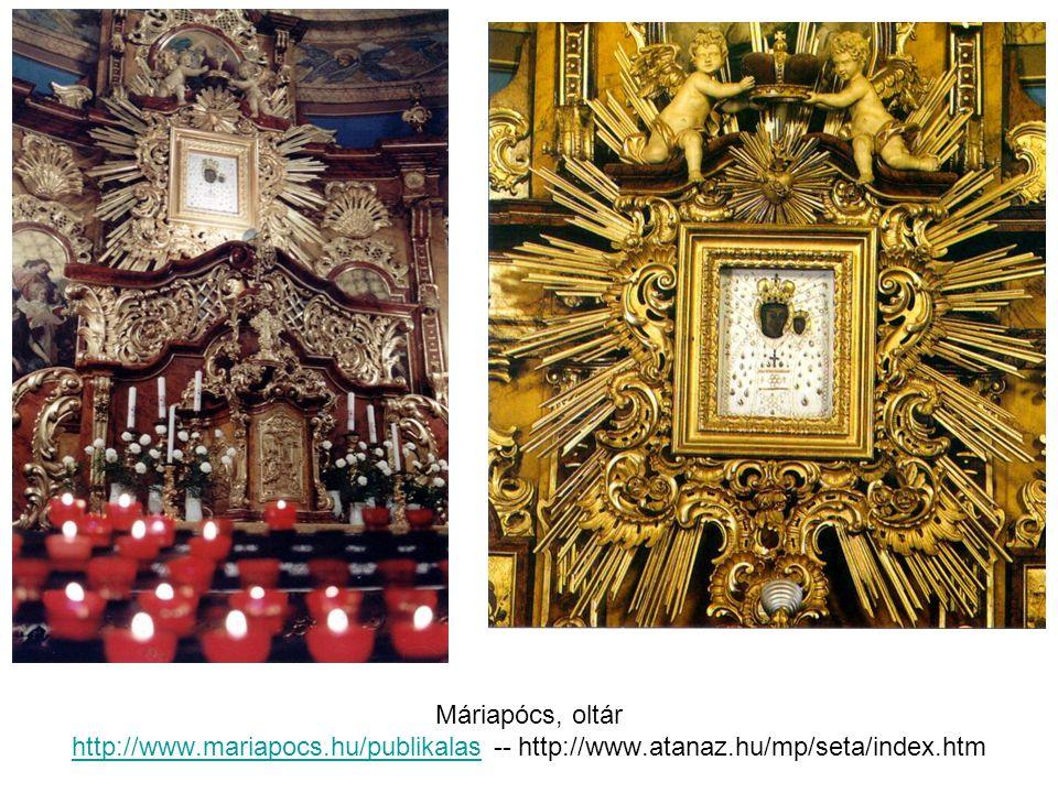 Máriapócs, oltár http://www. mariapocs. hu/publikalas -- http://www