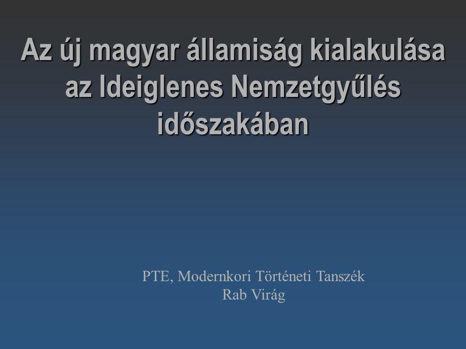 PTE, Modernkori Történeti Tanszék