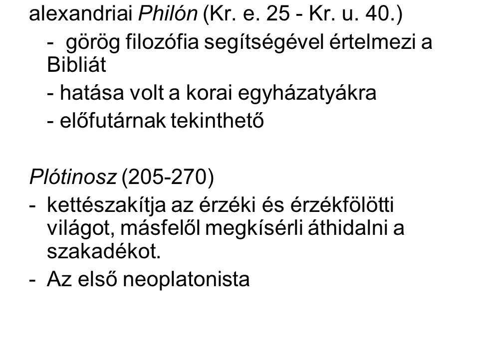 alexandriai Philón (Kr. e. 25 - Kr. u. 40.)