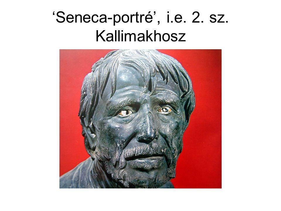 'Seneca-portré', i.e. 2. sz. Kallimakhosz
