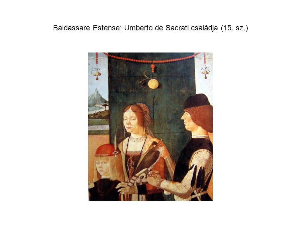 Baldassare Estense: Umberto de Sacrati családja (15. sz.)