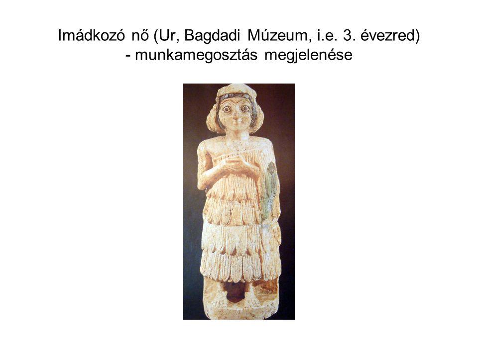 Imádkozó nő (Ur, Bagdadi Múzeum, i. e. 3