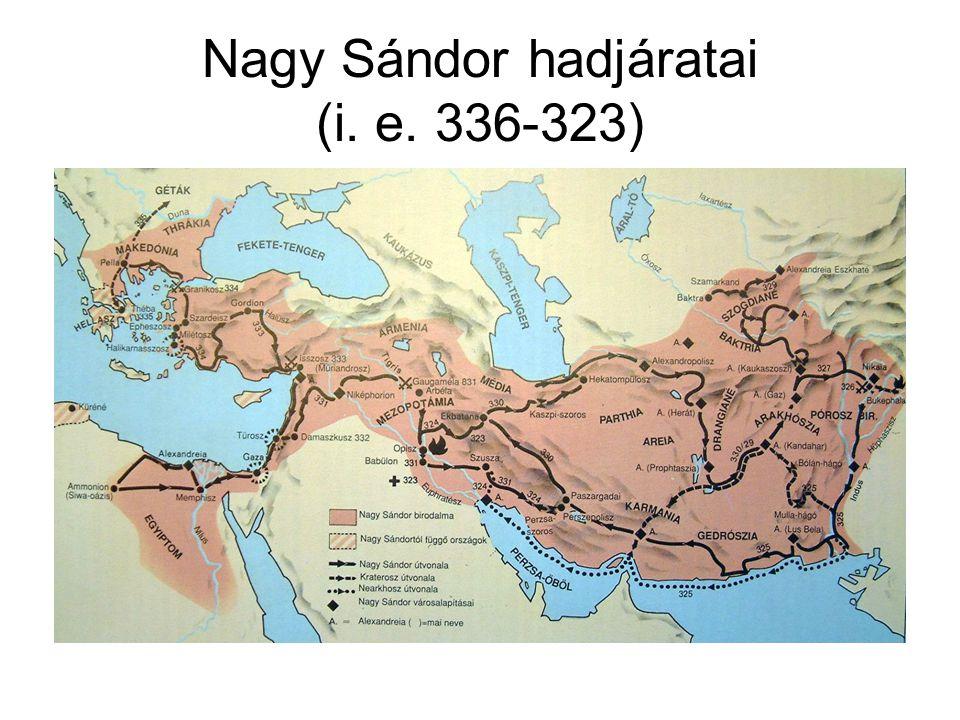 Nagy Sándor hadjáratai (i. e. 336-323)