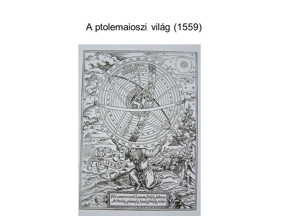 A ptolemaioszi világ (1559)