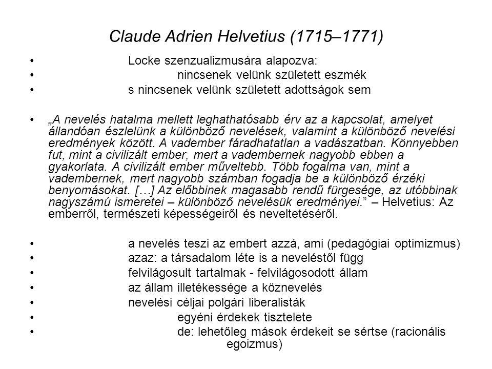 Claude Adrien Helvetius (1715–1771)