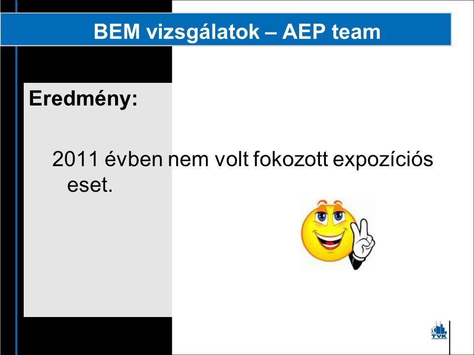 BEM vizsgálatok – AEP team
