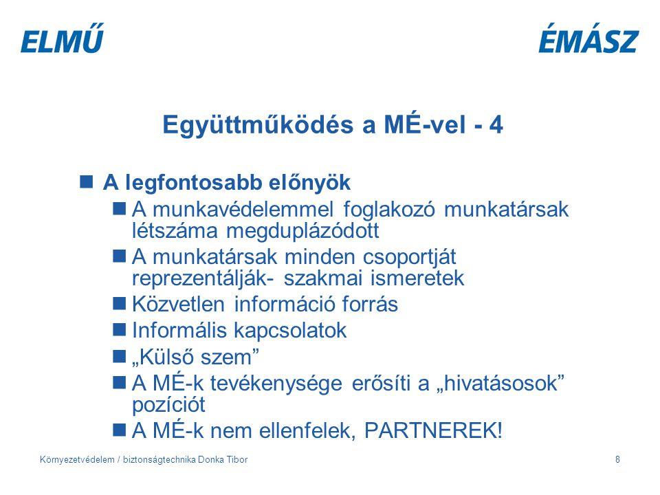 Együttműködés a MÉ-vel - 4