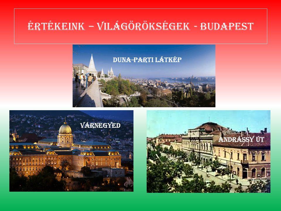 Értékeink – világörökségek - Budapest