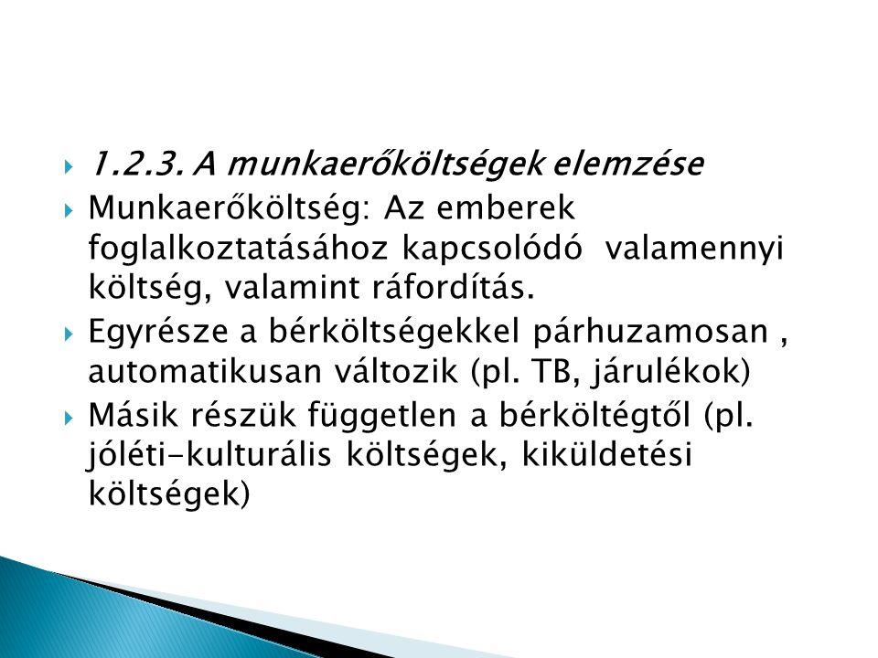 1.2.3. A munkaerőköltségek elemzése