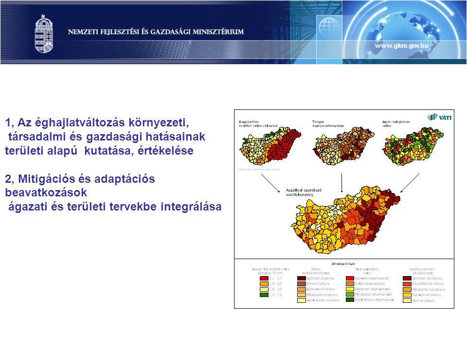 1, Az éghajlatváltozás környezeti, társadalmi és gazdasági hatásainak