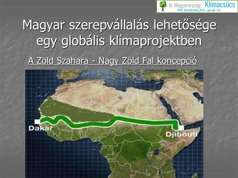Magyar szerepvállalás lehetősége egy globális klímaprojektben