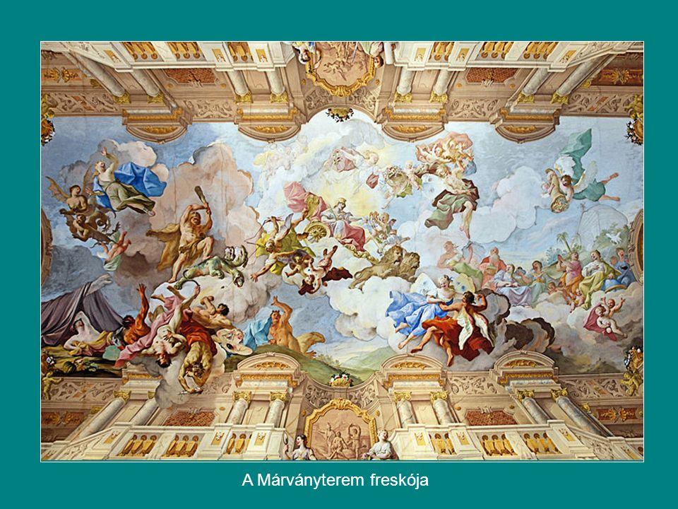 A Márványterem freskója