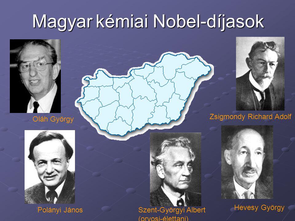 Magyar kémiai Nobel-díjasok