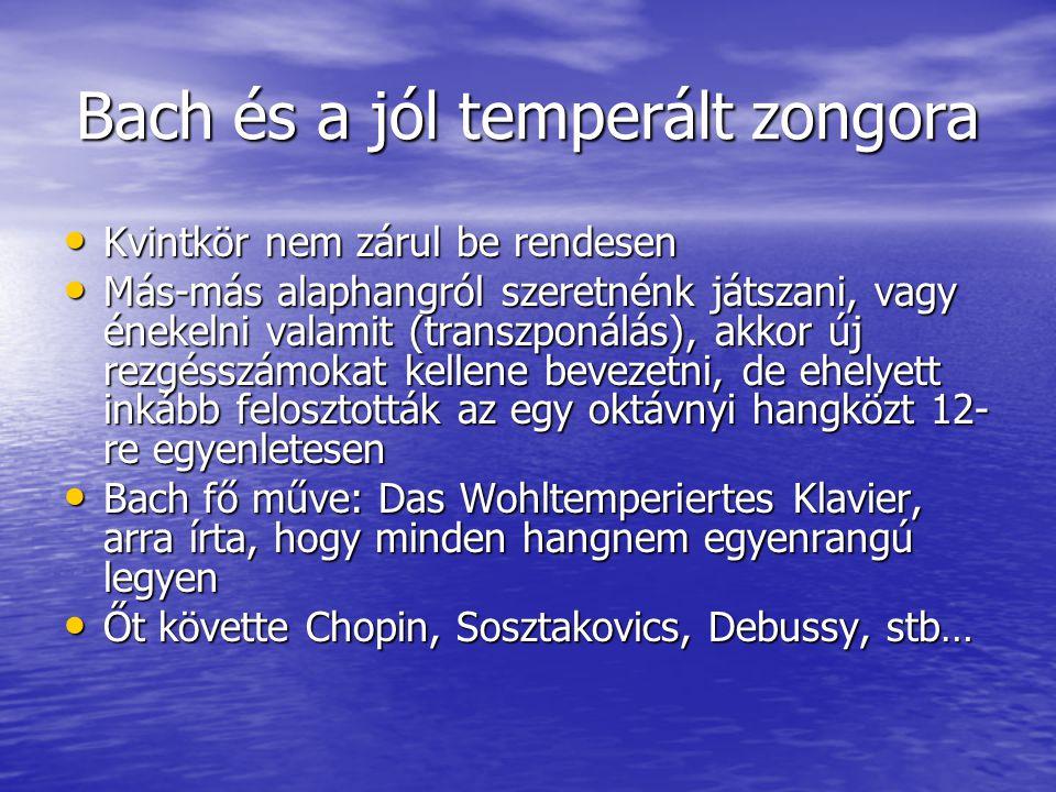 Bach és a jól temperált zongora