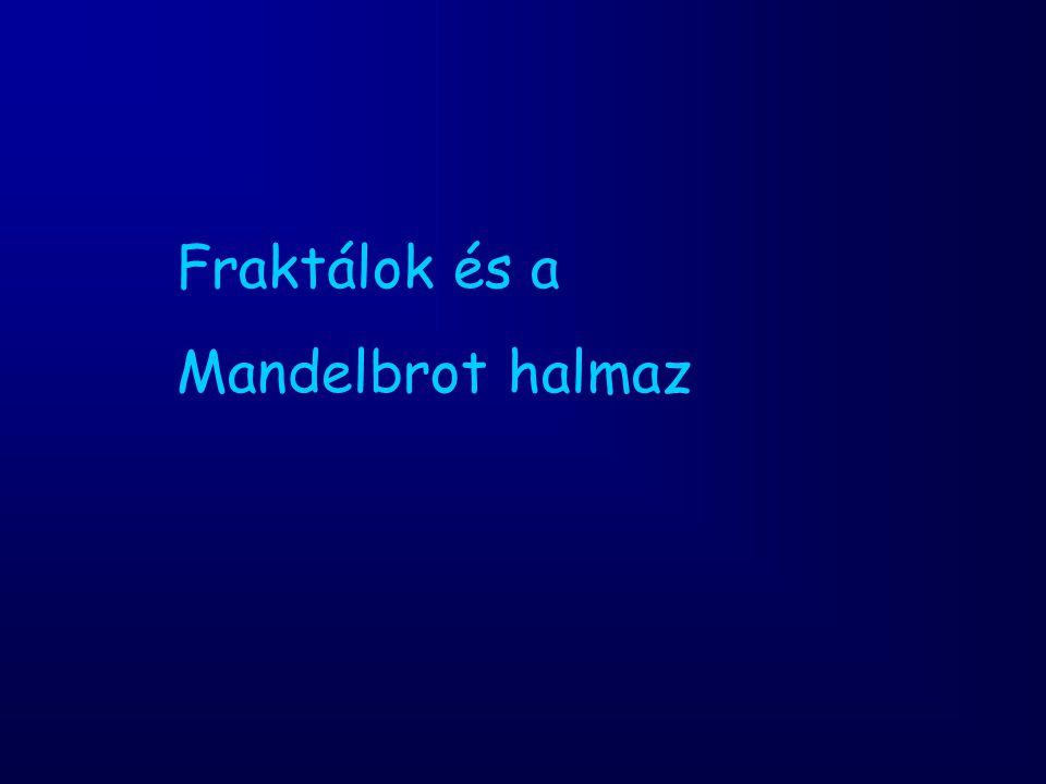 Fraktálok és a Mandelbrot halmaz