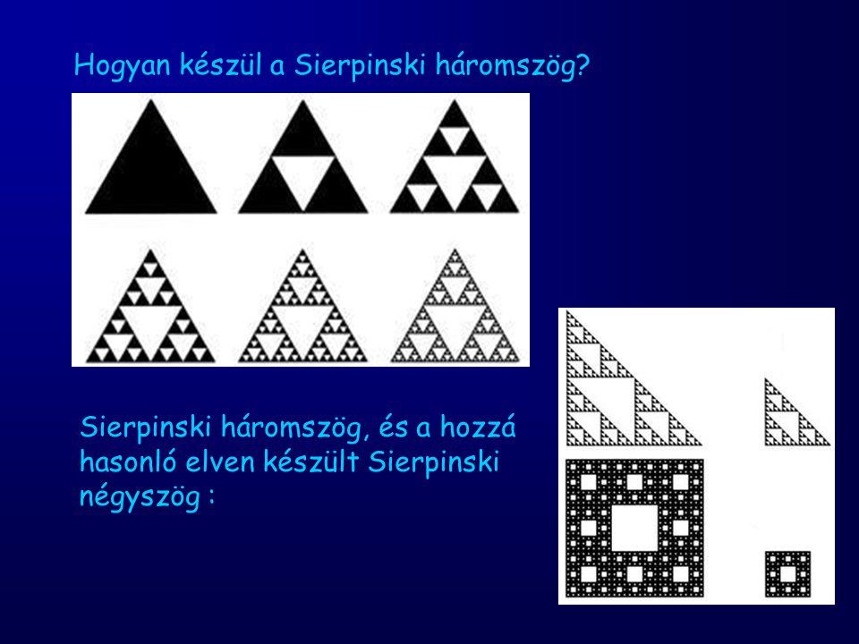 Hogyan készül a Sierpinski háromszög
