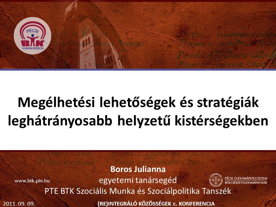PTE BTK Szociális Munka és Szociálpolitika Tanszék