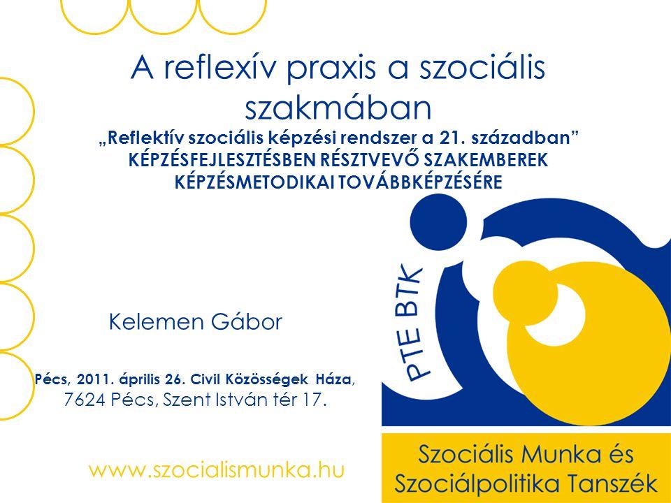 Kelemen Gábor www.szocialismunka.hu