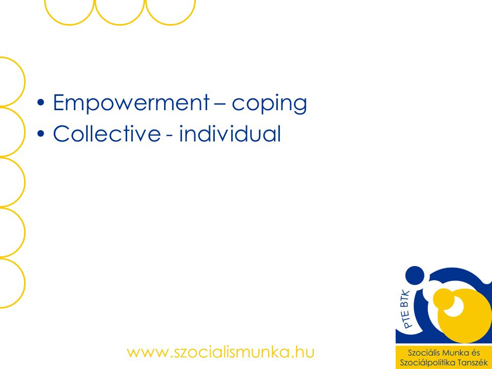 Collective - individual