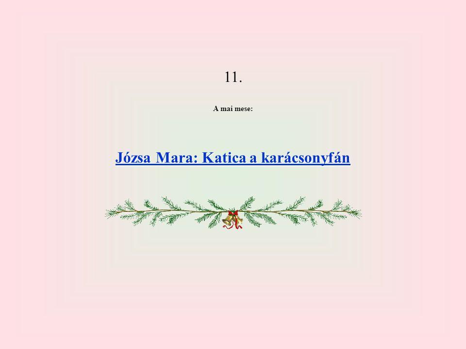 Józsa Mara: Katica a karácsonyfán