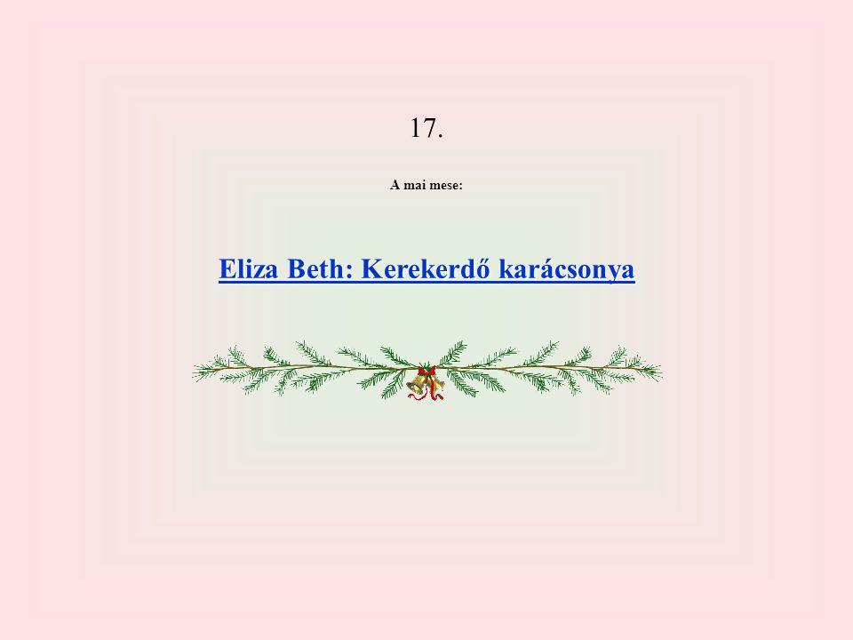 Eliza Beth: Kerekerdő karácsonya