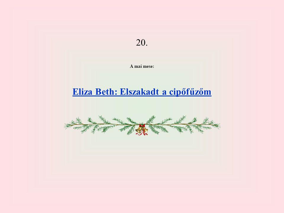 Eliza Beth: Elszakadt a cipőfűzőm