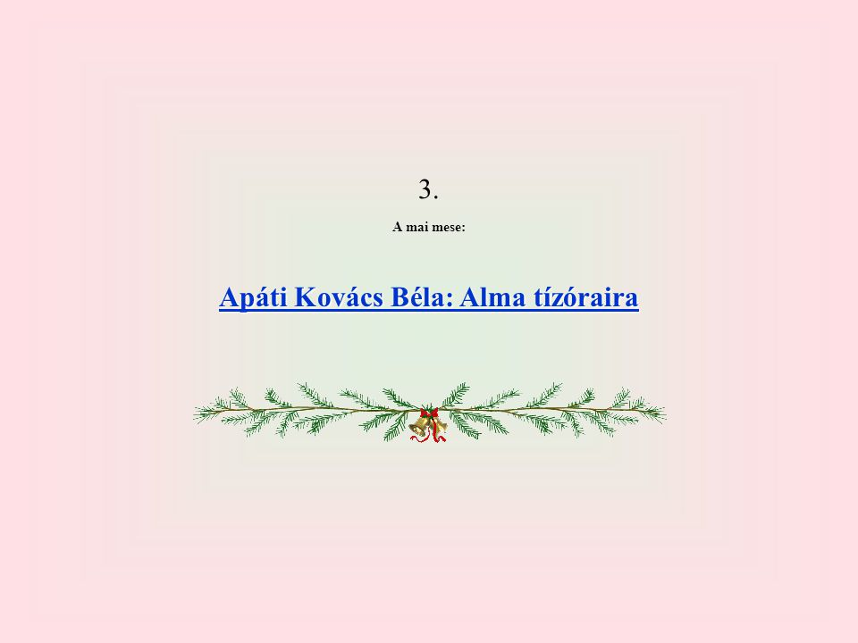 Apáti Kovács Béla: Alma tízóraira